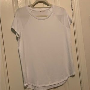White woven blouse